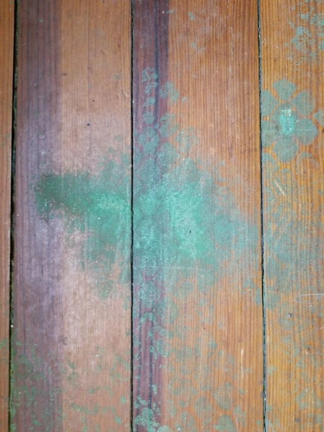 q how to remove these stains from hardwood floor