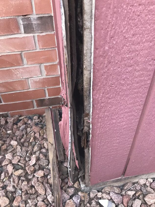 q how do i repair this exterior wall