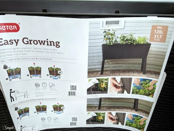 raised bed container gardening
