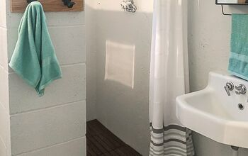 Dungeon Basement Bathroom Makeover For $216