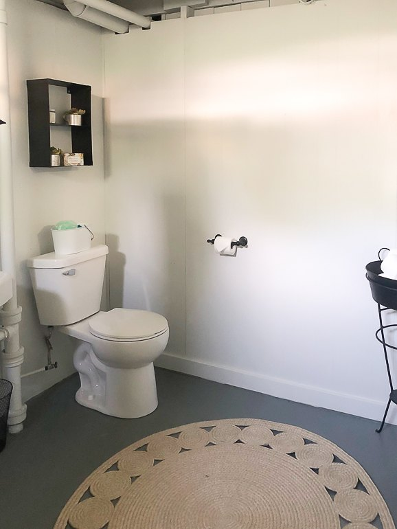 dungeon basement bathroom makeover for 216