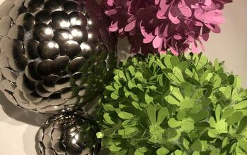 Thumbtacks Balls- DIY  Home Decor