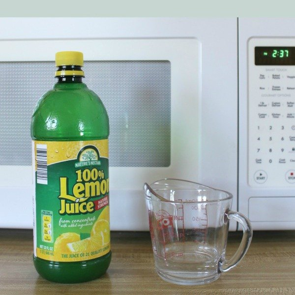 fast easy microwave cleaning
