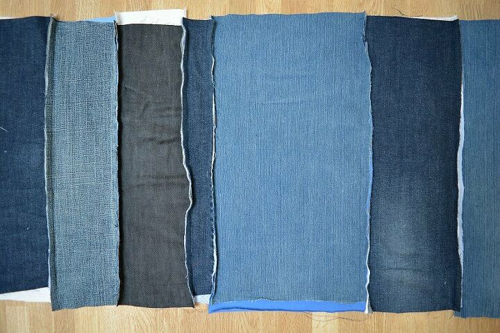 quick and easy denim rag quilt