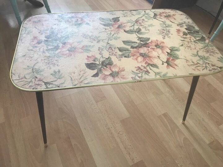 Table before transformation