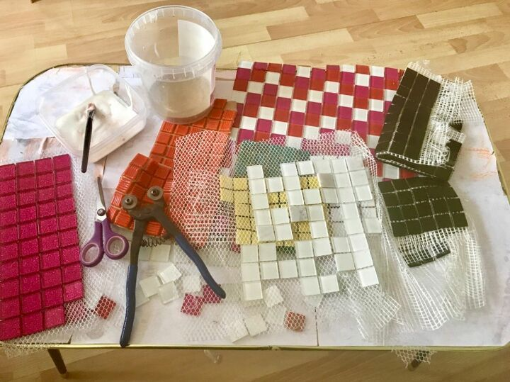 Choosing varied tiles and colour palette