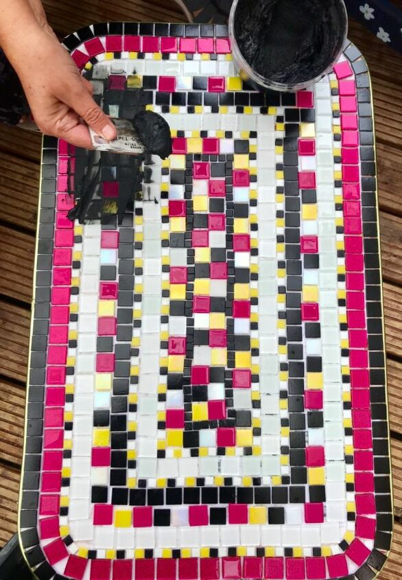 Grouting the table