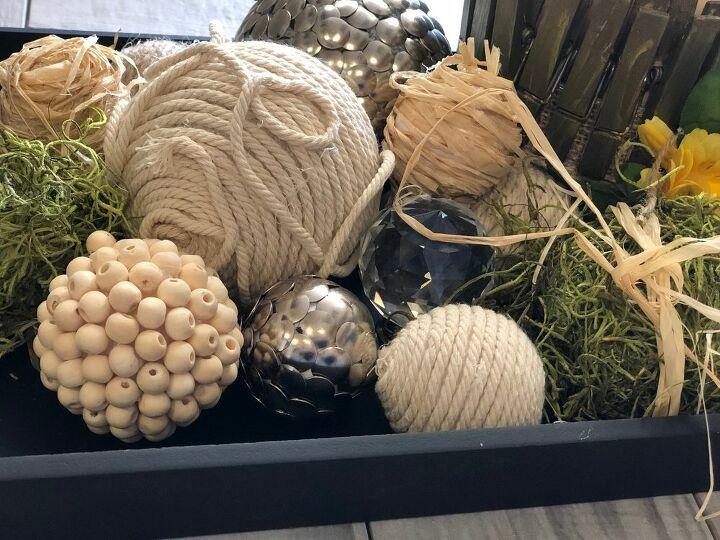 thumbtacks balls diy home decor