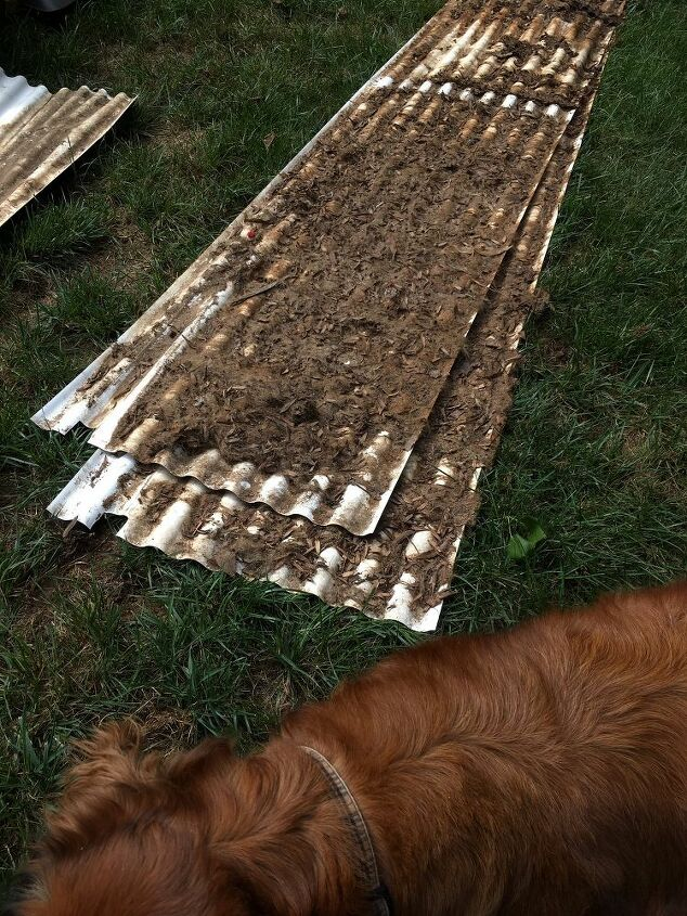 q how to waterproof a deck with a shed underneath