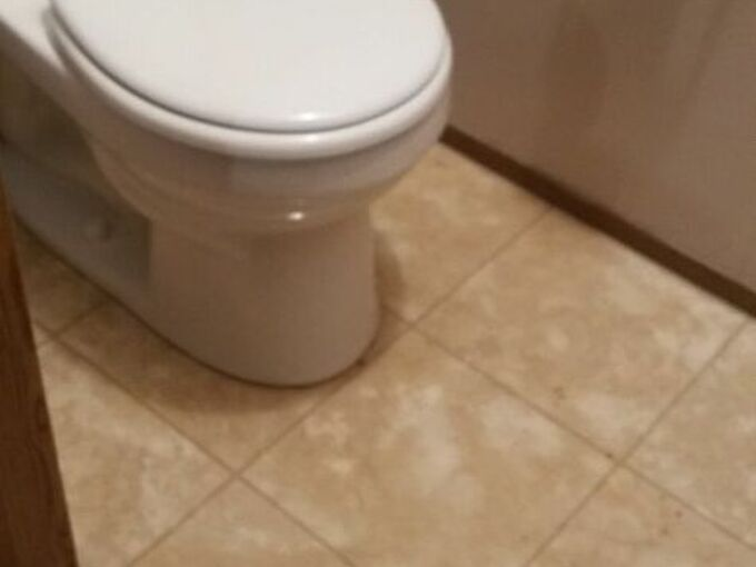q put on new floor