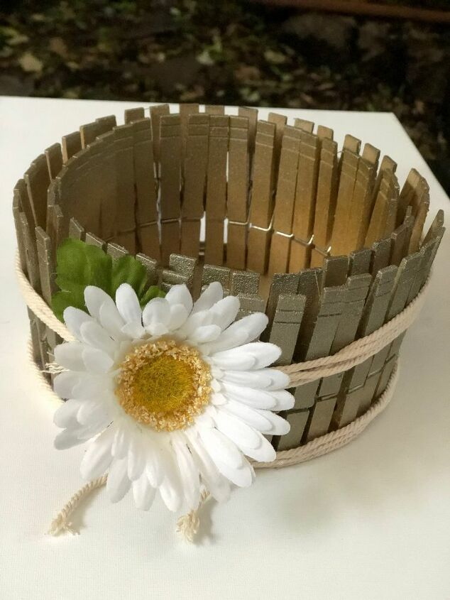 clothespins to the home decor rescue stylish home decor accent diy