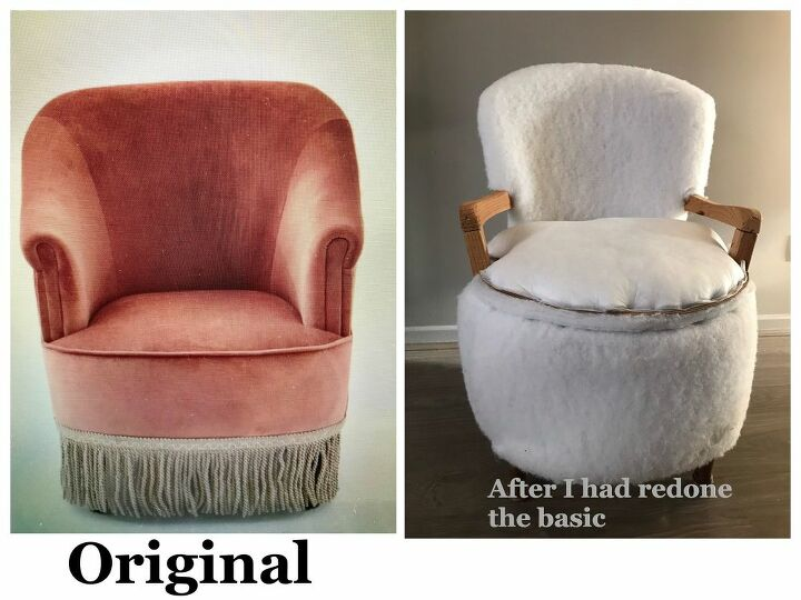 give your vintage seat a classy stylish knitted cover