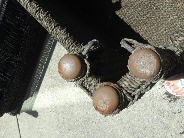q repair patio furniture legs