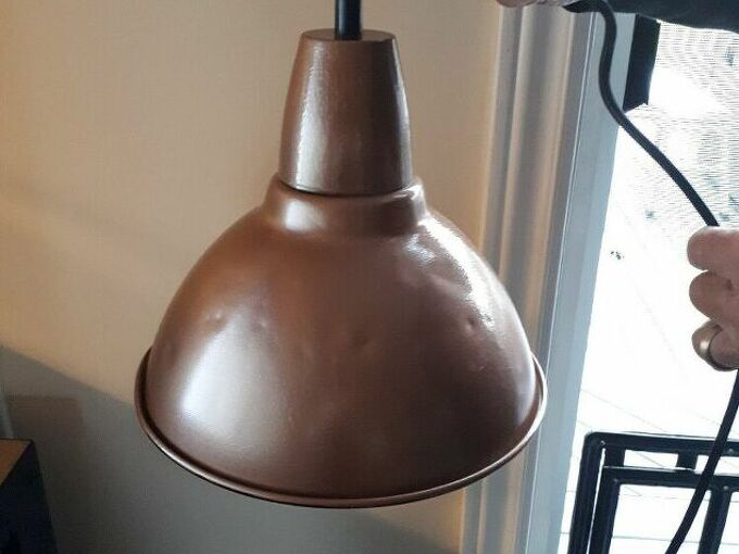 q repurpose old utility lamps