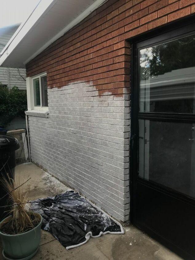 lime washed brick