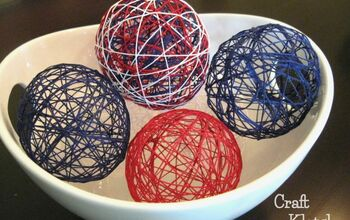 Patriotic Decorative String Balls