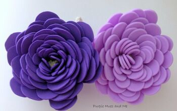 Flower Bath Foam Scrubbies