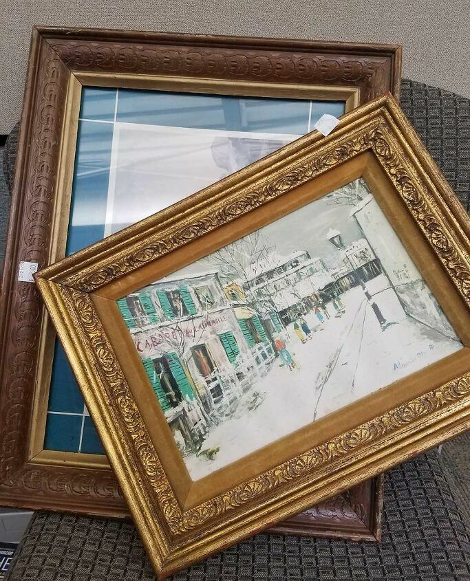 Look for sturdy frames with ornate detail