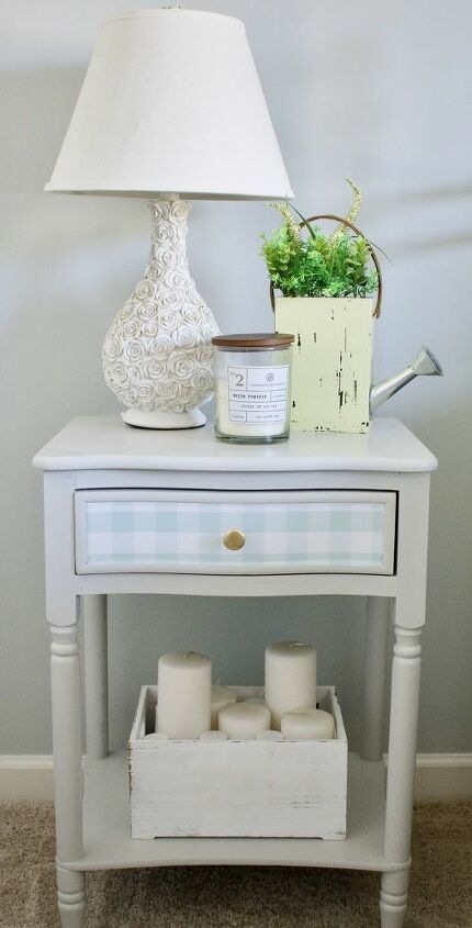 How To Update Furniture With Wallpaper Diy Hometalk