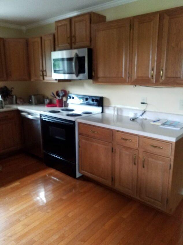 q how do i makeover kitchen cabinets