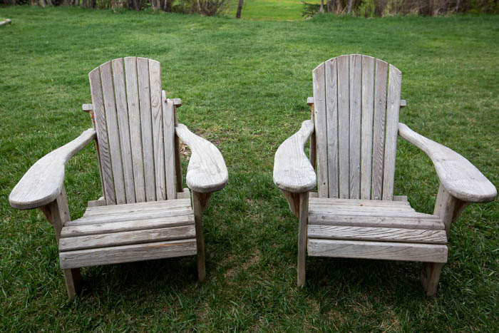 adirondack chair makeover for the kids