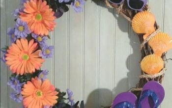 Summer Fun Wreath With Flip Flops
