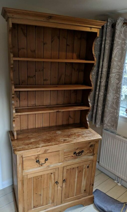 How To Shabby Chic A Welsh Dresser Diy