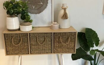 DIY A Natural Style Console Table