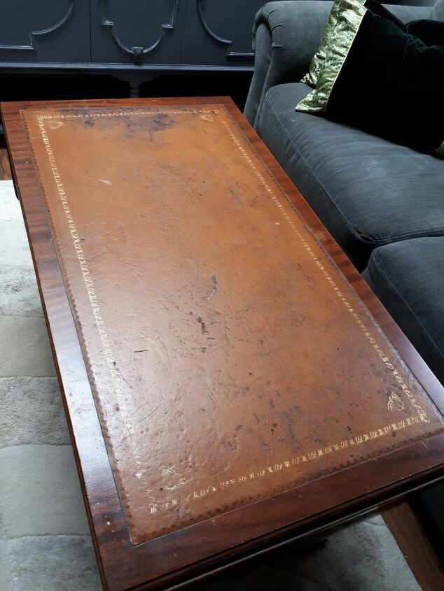 q how to repair a coffee table