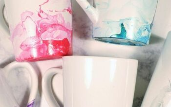 How to Make Marbled Coffee Mugs
