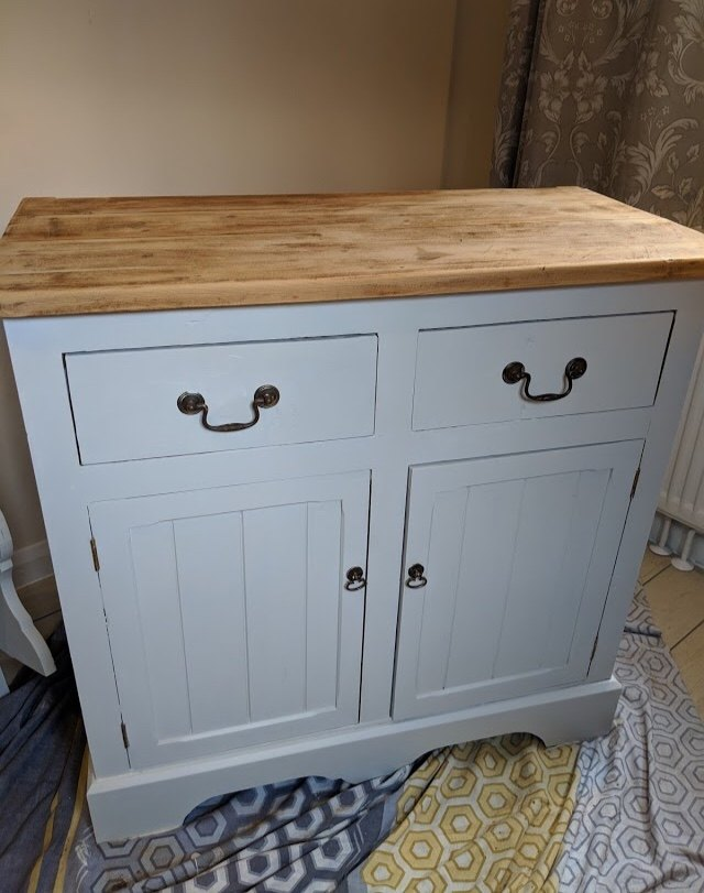 how to shabby chic a welsh dresser