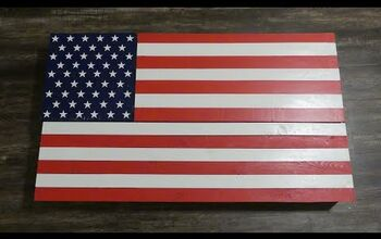 Build This American Flag Wall Safe Before the Fourth of July!