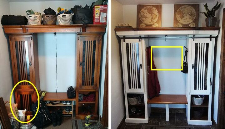 How To Make A Diy Entryway Mirror With Hooks Hometalk