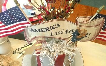 4th of July Centerpiece DIY