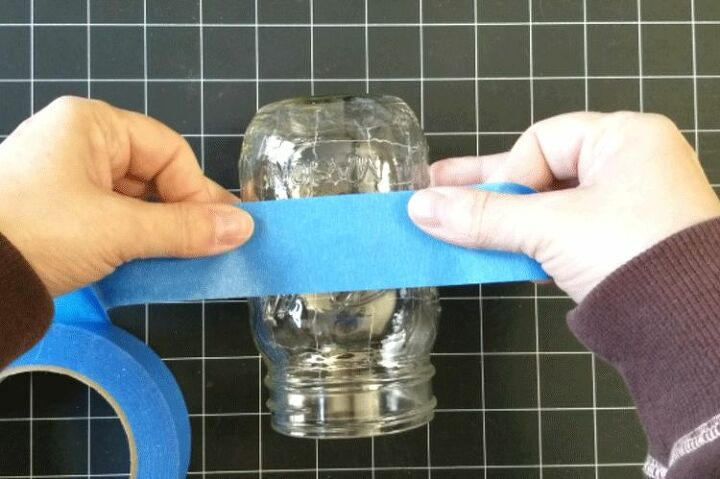 easy mason jar hanging solar lights