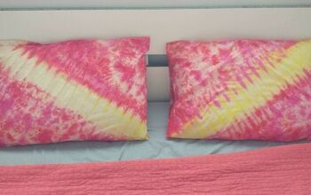 Summer Inspired Tie Dye Pillowcases