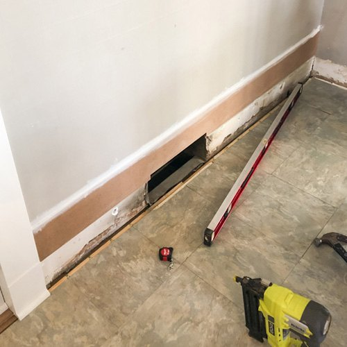 affordable diy shiplap walls