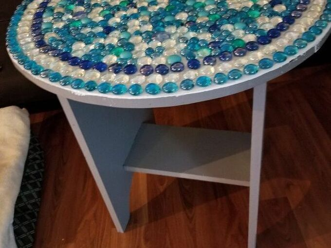 q i would like to cover a beaded table top