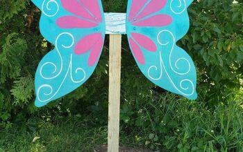 Lifesize Fairy Garden Wings