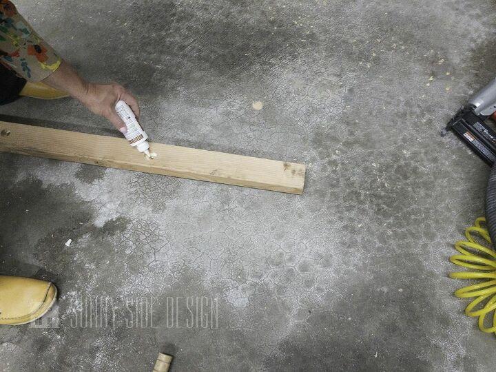 diy blanket ladder with croquet mallets scrap wood