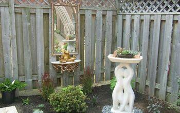 Garden Shelf & Mirror