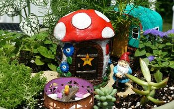 Creating Gnome Gardens With Kids