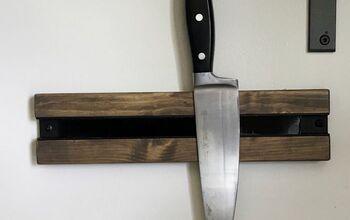 Easy to Build Magnetic Knife Holder