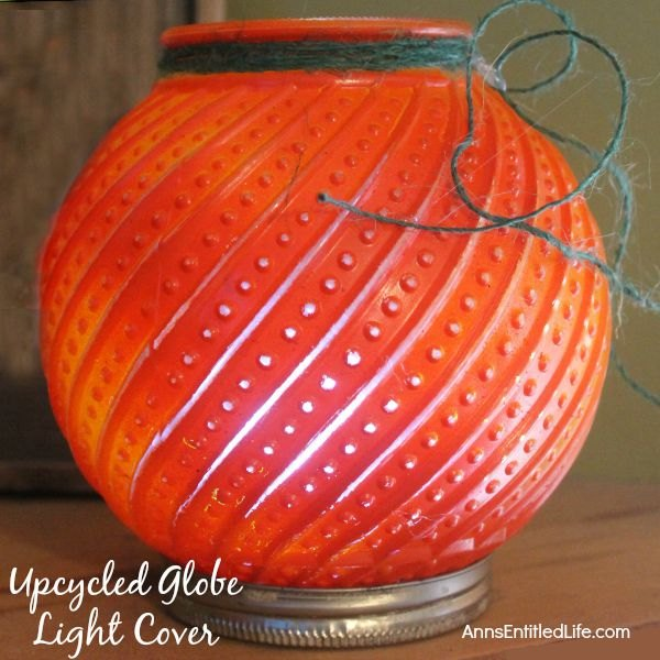 upcycled your old globe light covers