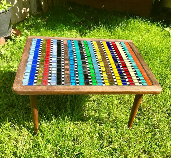 Funky mosaiC coffee table
