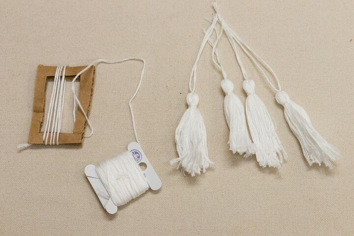 how to make tassels easy and fast