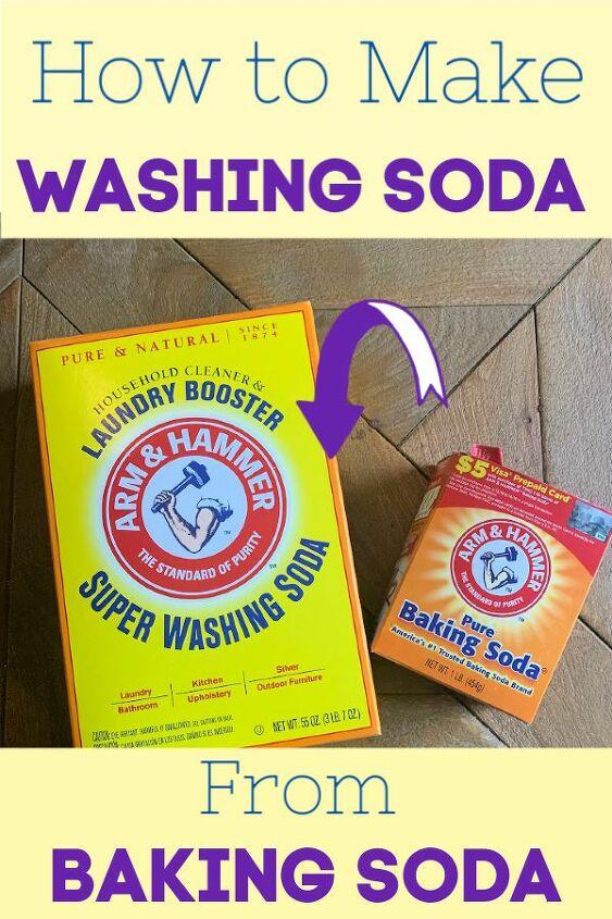 how to make washing soda