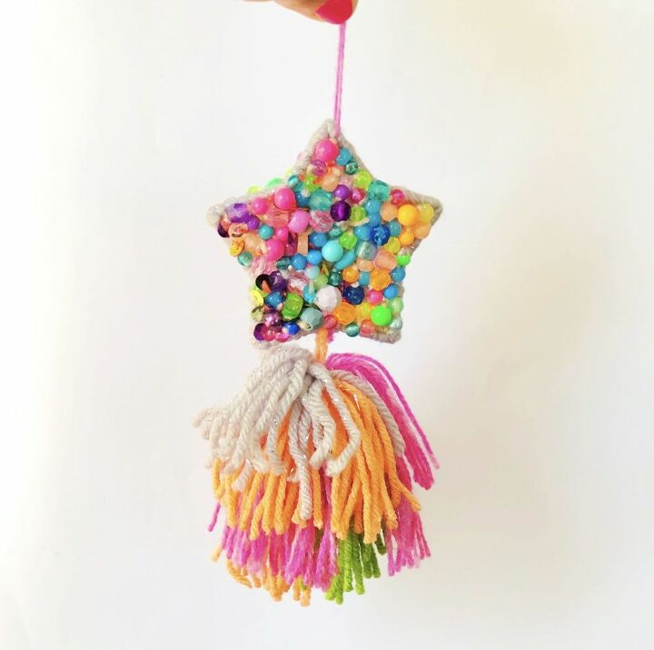 diy shooting star tassels