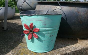 Galvanized Bucket Upcycle