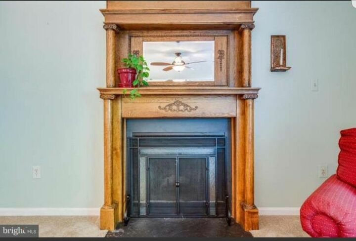 q can i take off the top of this mantle